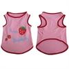 Iconic Pet - Pretty Pet Pink Strawberry Top - Medium