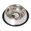 Iconic Pet - Stainless Steel Non-Skid Pet Bowl for Dog or Cat - 96 oz - 12 cup