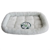 Iconic Pet - Premium Synthetic Sheepskin Handy Bed - White - Medium