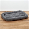 Iconic Pet - Premium Synthetic Sheepskin Handy Bed - Grey - Small