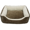 Luxury Lounge Pet Bed - Dark Moss - Small