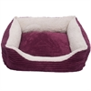 Luxury Lounge Pet Bed - Imperial Purple - Medium