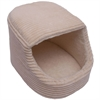 Iconic Pet - Luxury Snugglez Igloo Pet Bed - Cream - Medium
