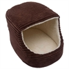 Iconic Pet - Luxury Snugglez Igloo Pet Bed - Cocoa - Medium