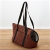 Iconic Pet - Luxury Totez Pet Carry Bag - Cocoa - Large