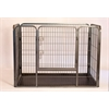 "Iconic Pet - Heavy Duty Rectangle Tube pen Dog Cat Pet Training Kennel Crate - 28"" Height"