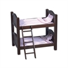 Doll Bunk Bed Espresso
