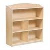 "Sgl Sided Bookcase -36""Hg"