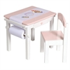 Art Table & Chair Set PINK