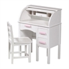 Jr Rolltop Desk White