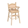 Doll High Chair Natural