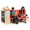 Modular Library Storage w/Seat