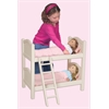 Guidecraft Doll Bunk Bed- White