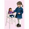 Doll High Chair White