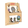 Guidecraft Expressions Trophy Rack: Natural