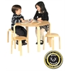 Guidecraft Nordic Table Set - Natural