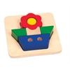 Guidecraft Primary Puzzle - Flower