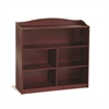 Guidecraft 4 Shelf Bookshelf Cherry