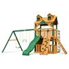 Malibu Clubhouse Swing Set w/ Timber Shield