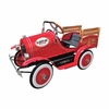 Vintage Red Delivery Truck