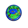 Kids World Carpets Forest Friends Area Rug, 6' round
