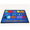 "Kids World Carpets Shapes Area Rug, 6'6"" x 8'4"""