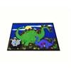 Kids World Carpets Dino Land Area Rug, 4' x 6'
