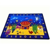 "Kids World Carpets See the Sea Area Rug, 4'4"" x 5'6"""