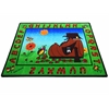 "Lady Bug Area Rug, 6'6"" x 8'4"""