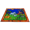 "Kids World Carpets Safari Area Rug, 6'6"" x 8'4"""