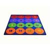 "Sitting Circles (16) Area Rug, 6'6"" x 8'4"""