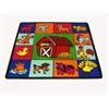 Kids World Carpets Farm for Babies Area Rug, 5' x 5'