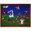 "Kids World Carpets Spring Day Area Rug, 4'4"" x 5'6"""