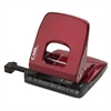 Alysis 30 sheet 2 hole paper punch: Red