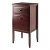 Winsome Wood Orleans Modular Buffet With Drawer, Flip Down Door, 17.72 x 16.34 x 35.43, Cappuccino