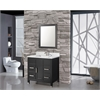 "Ricca 36"" Single Sink Bathroom Vanity Set, Espresso"