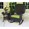 Tortuga Outdoor Lexington Rocker & Table Bundle - Tortoise -   Rave Pine
