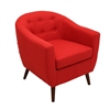 LumiSource Rockwell Chair, Red