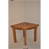 Anderson Teak Shower Stool Corner