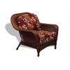 Lexington Club Chair - Java - Montfleuri Sangria