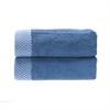 BedVoyage Rayon from Bamboo blend Resort Hand Towel (2pk) in Indigo