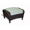 Tortuga Outdoor Lexington Ottoman - Tortoise -   Rave Spearmint