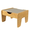 Activity Play Table - Gray & Natural