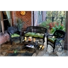Tortuga Outdoor Portside 4Pc Seating - Dark Roast - Monti Leaf