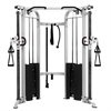 Functional Trainer Cable Machine with Dual 200 lb Weight Stacks XM-7626-White