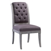 Addington Grey Linen Side Chair set of 2