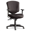 Wrigley Pro Series Mid-Back Multifunction Chair, Black