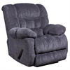 Flash Furniture Contemporary Columbia Indigo Blue Microfiber Rocker Recliner