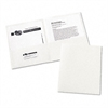 Avery Two-Pocket Folder, 20-Sheet Capacity, White, 25/Box