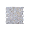 Legion furniture Mosaic With Seashell, Off White